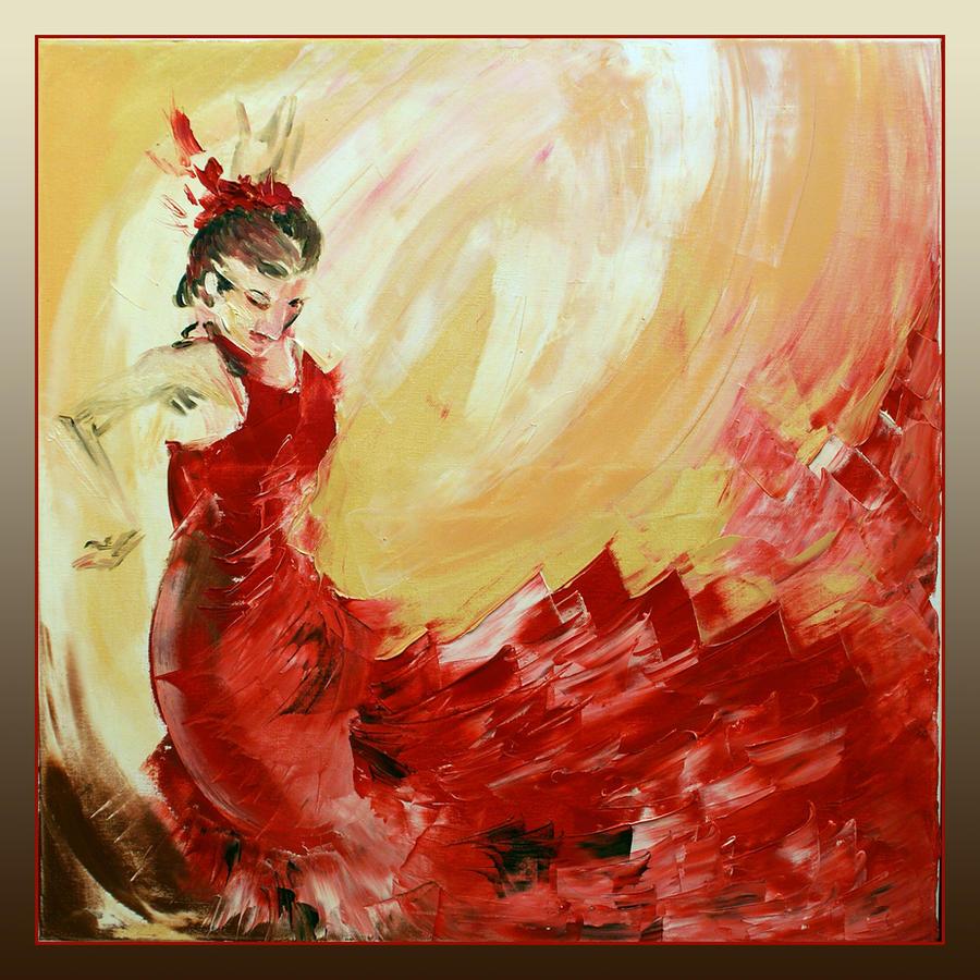 flamenco dancer by garfildus on deviantart