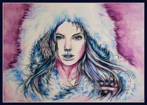 Angelina Jolie as Snow Queen
