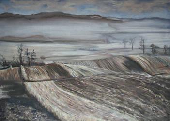 Roztocze in winter by garfildus