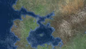 West Aldrina - In Progress Map by JoshWorlds