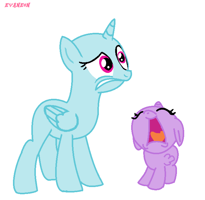 Mlp Base #9 - Take this baby now! by EvaNeon on DeviantArt