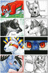 Flipnote drawings