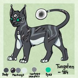 Tungsten-184 by ZjeroXytz