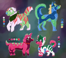 Canine adopts - 1/4 open
