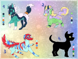 Mystery pups adopts - 1/4 open!