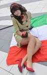 Nyo Roma on the flag