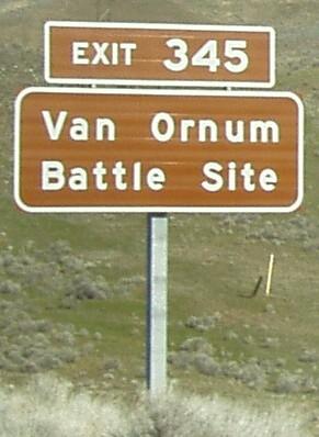 Van Ornum Battle Site. by arowolf