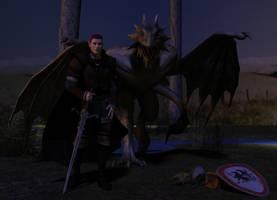 Warrior by arowolf