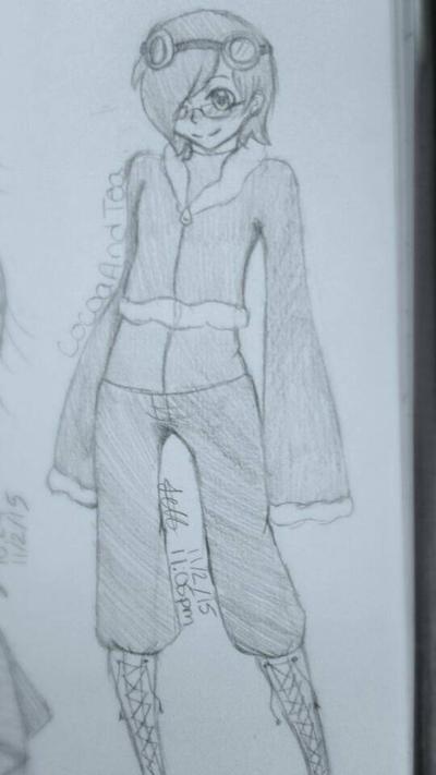 Request: CocoaAndTea: Sketch Ver.  by Dannanariko