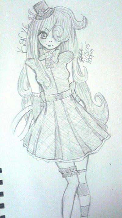 Request: Karye: Sketch Ver.  by Dannanariko