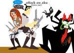 Attack on Aku (jira au)