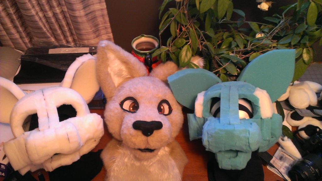 Three Heads In Progress by JessiJones