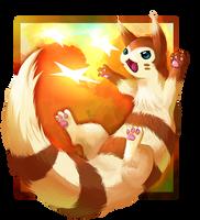 Furret (/speedpainting) by sifyro