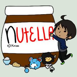 Nutella Love by chocogasm