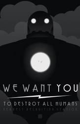 WE WANT YOU by MurderousAutomaton