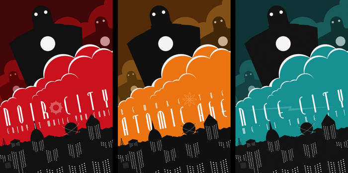 Robot Invasion Posters