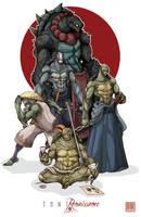 TMNT: Renaissance by MurderousAutomaton