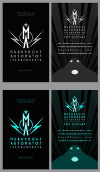 Raygun Gothic Business Card Designs