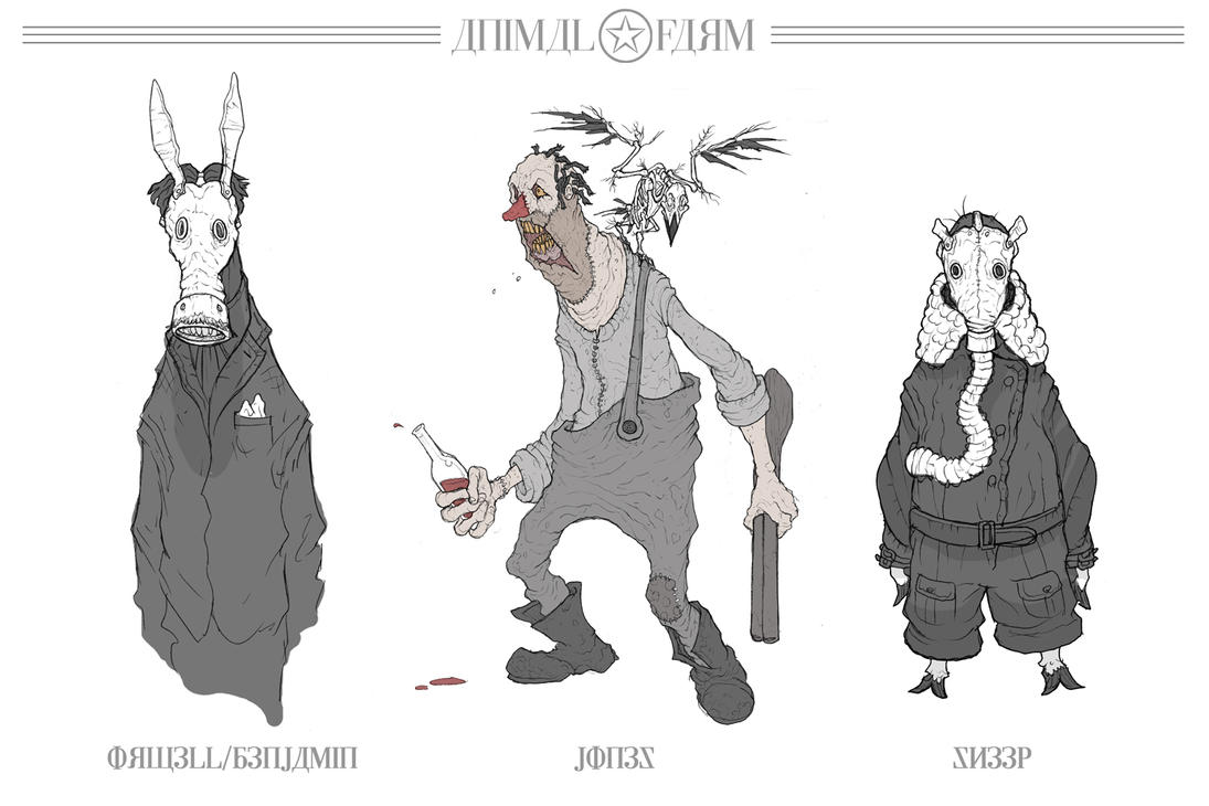 Animal Farm: Concept Art by MurderousAutomaton