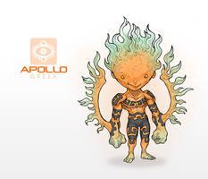 Mythos: Apollo by MurderousAutomaton
