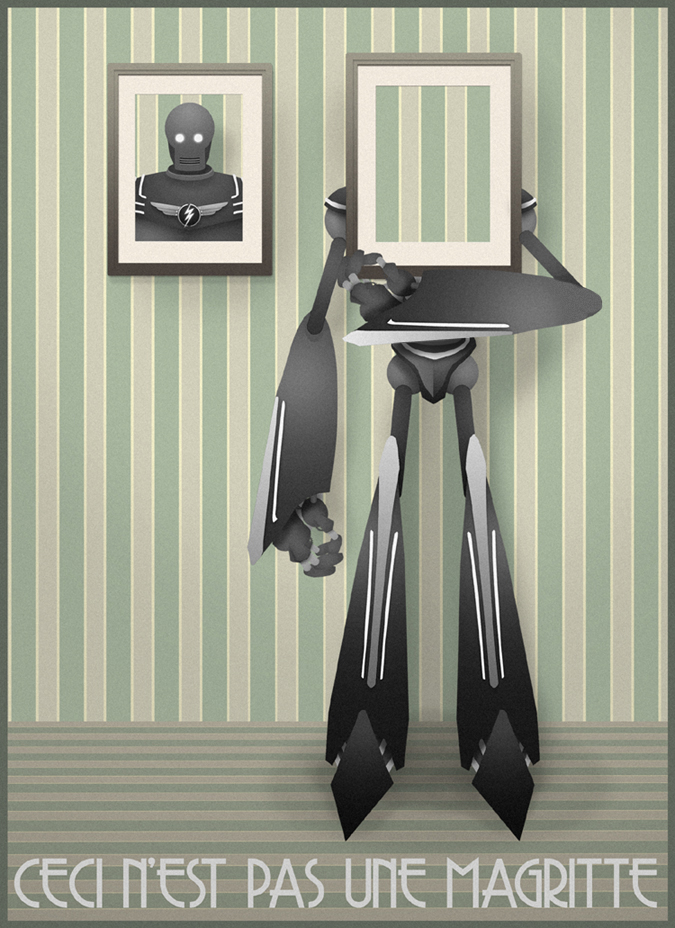 This Is Not a Magritte by MurderousAutomaton