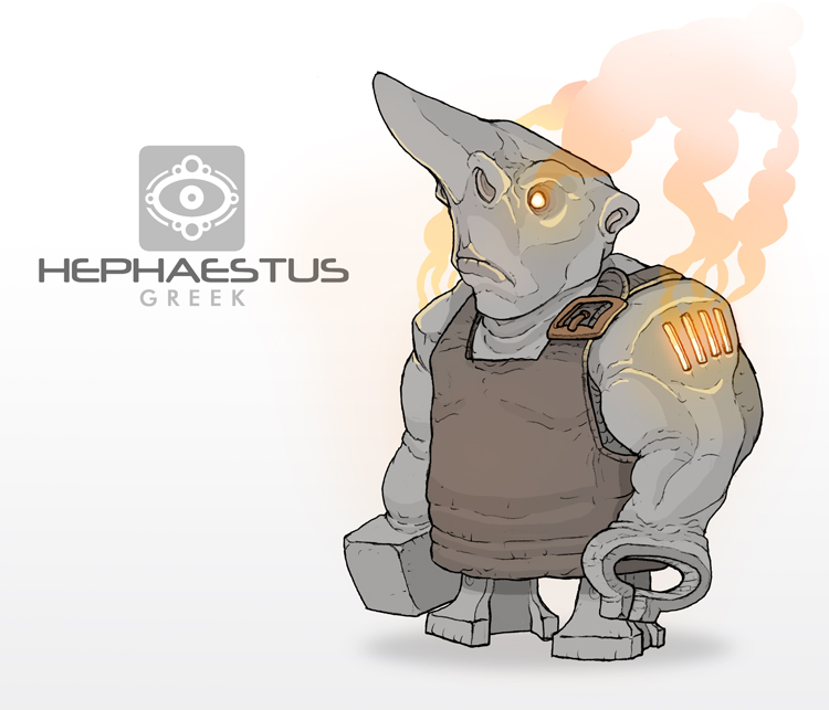 Mythos: Hephaestus by MurderousAutomaton