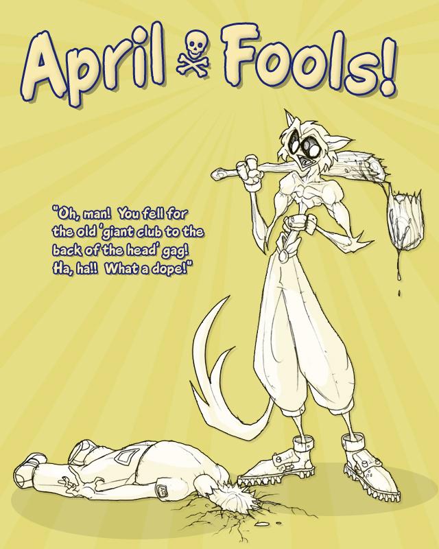 Sai Poster: April Fools Day by MurderousAutomaton