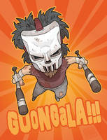 Casey Jones: Fun Size by MurderousAutomaton