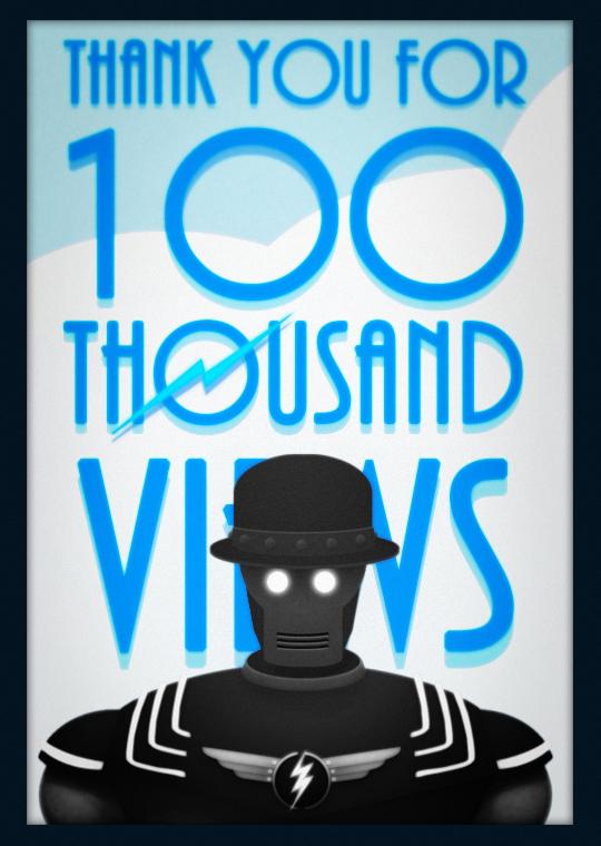 100K! by MurderousAutomaton