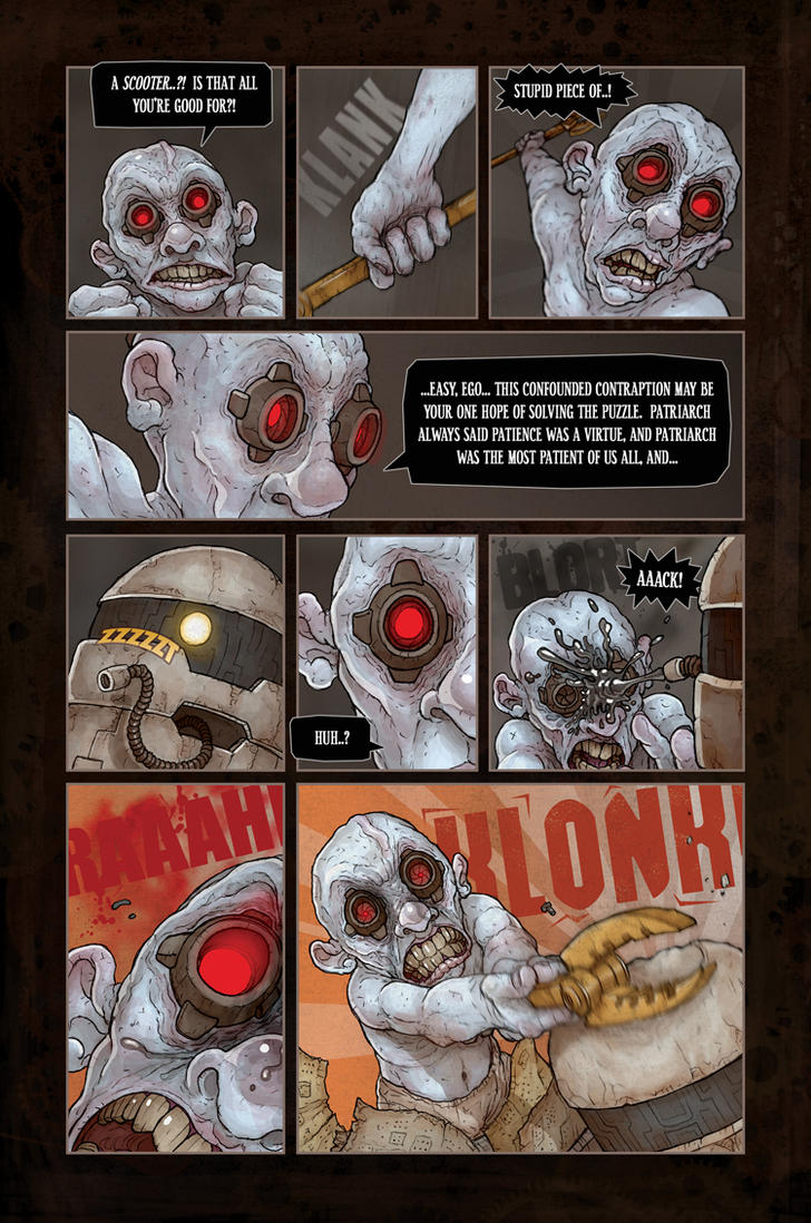 The Revival, Chapter VI, Page 17 by MurderousAutomaton