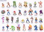 Sega vs Capcom: Sega Roster