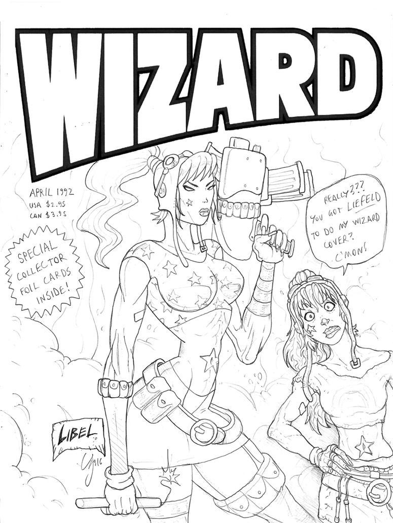 Rainbow's Wizard Cover by MurderousAutomaton