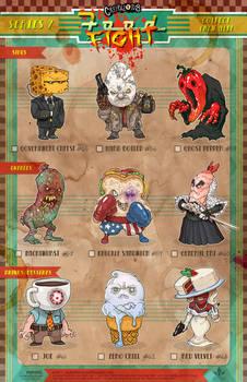 Creepazoids: Food Fight