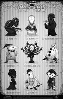 Creepazoids: Black and Wight by MurderousAutomaton