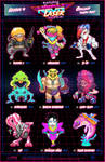 Creepazoids: Neon Laser Force