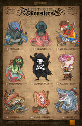 Creepazoids: Here There Be Monsters by MurderousAutomaton