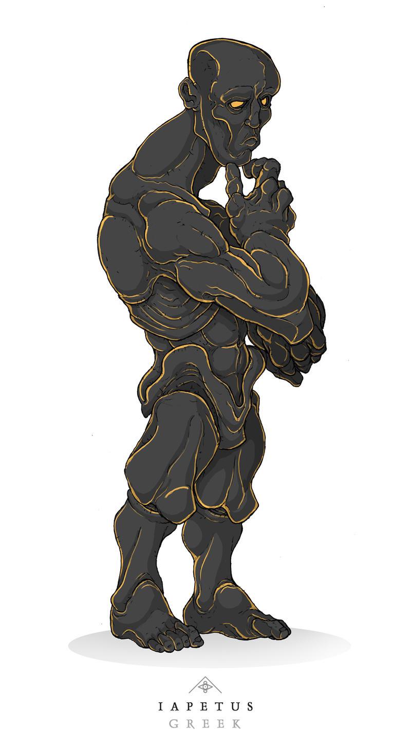 Mythos: Iapetus by MurderousAutomaton on DeviantArtIapetus Titan Greek Mythology
