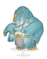 Mythos: Ganesha by MurderousAutomaton