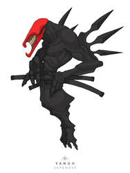Mythos: Tengu [Version 2.0] by MurderousAutomaton