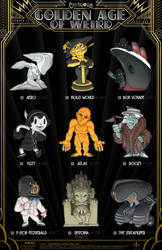 Creepazoids: The Golden Age of Weird by MurderousAutomaton