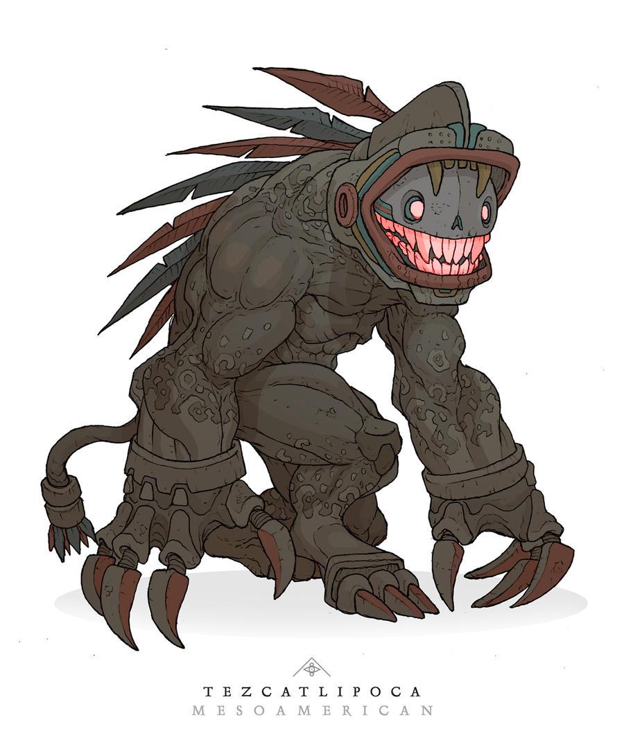 Mythos: Tezcatlipoca by MurderousAutomaton