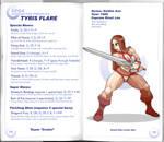Sega vs Capcom: Tyris Flare