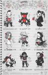 Creepazoids: Doodles