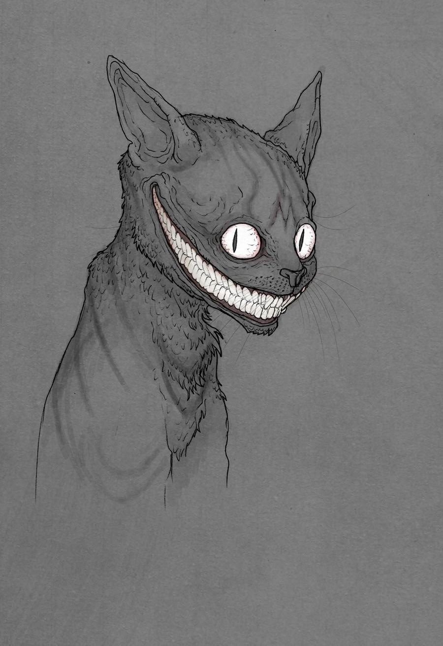 Grinning Like a Cheshire Cat by MurderousAutomaton