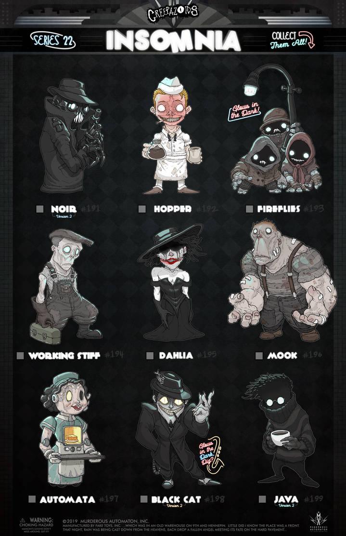 Creepazoids: Insomnia by MurderousAutomaton
