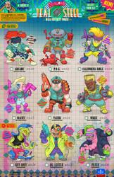 Creepazoids: Teal Steel
