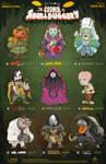 Creepazoids: The Council of Skullduggery