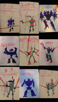The Destroyer Robots (1986-1992)
