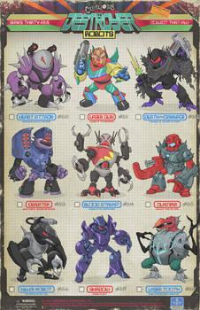 Creepazoids: The Destroyer Robots