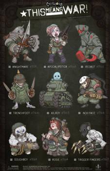 Creepazoids: This Means War!
